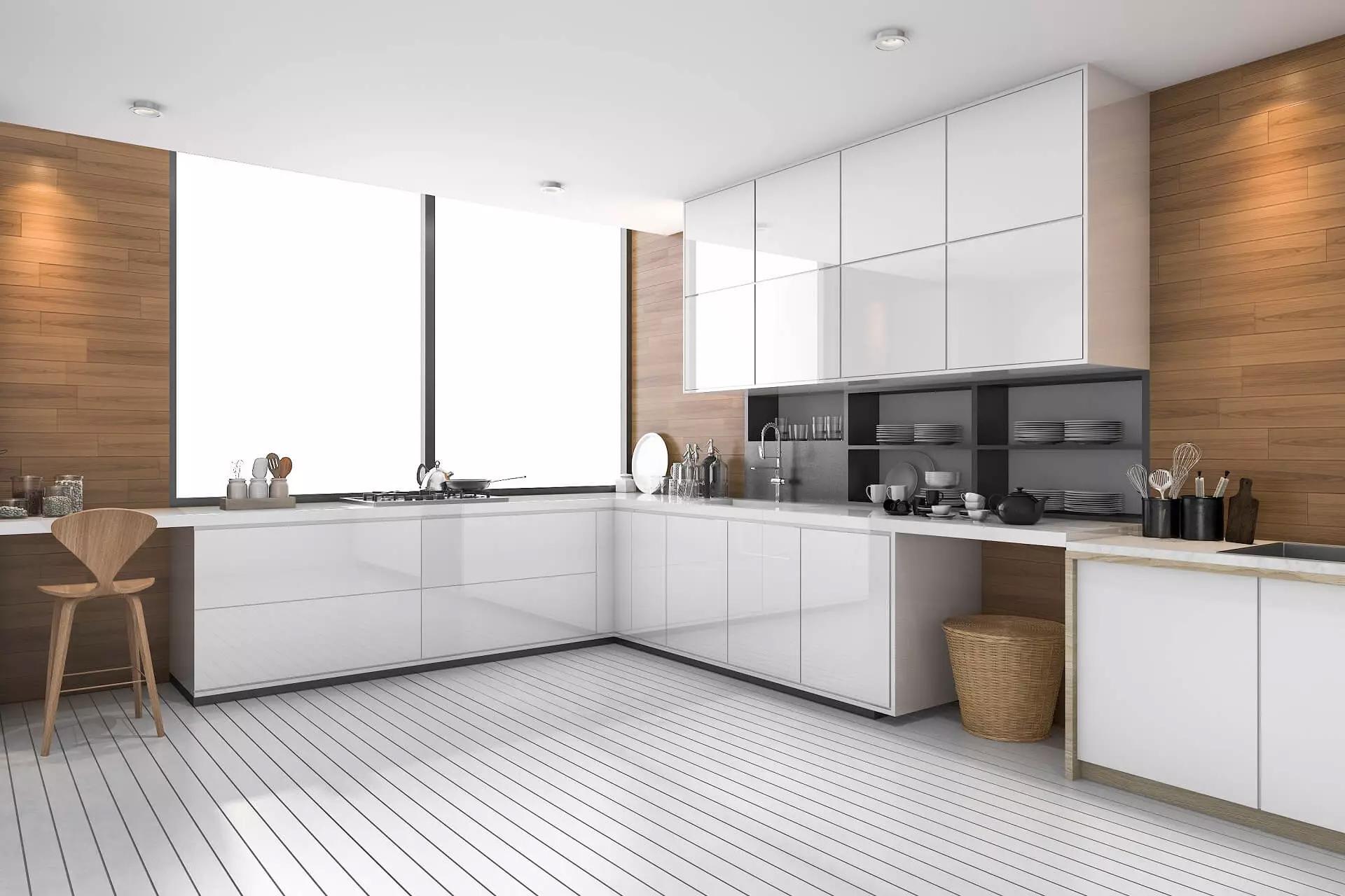 Bếp vuông: Tư vấn cách trang trí, sắp xếp không gian bếp cho ngôi nhà của bạn.