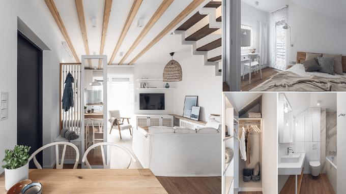 Hình ảnh của  Mẫu thiết kế nội thất cho ngôi nhà nhỏ đẹp ấm cúng, không hề tạo cảm giác chật chội