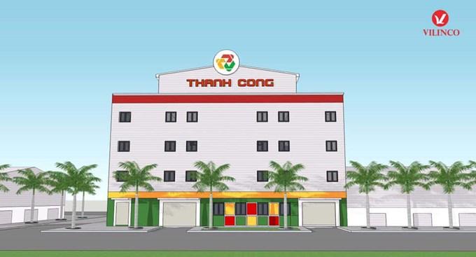Hình ảnh của Thiết kế nhà xưởng sản xuất Công ty Cầu lông Thành Công