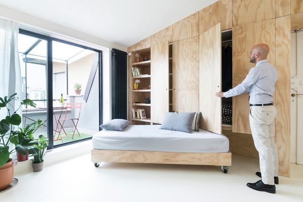 Dưới 30m²: Giải pháp đa năng trong 13 căn hộ nhỏ