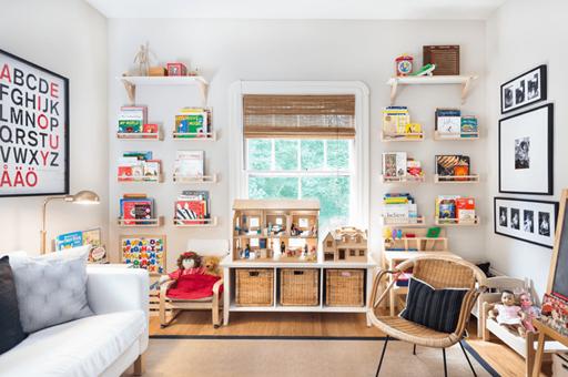 10 cách trang trí lạ mắt cho phòng trẻ em siêu dễ thương