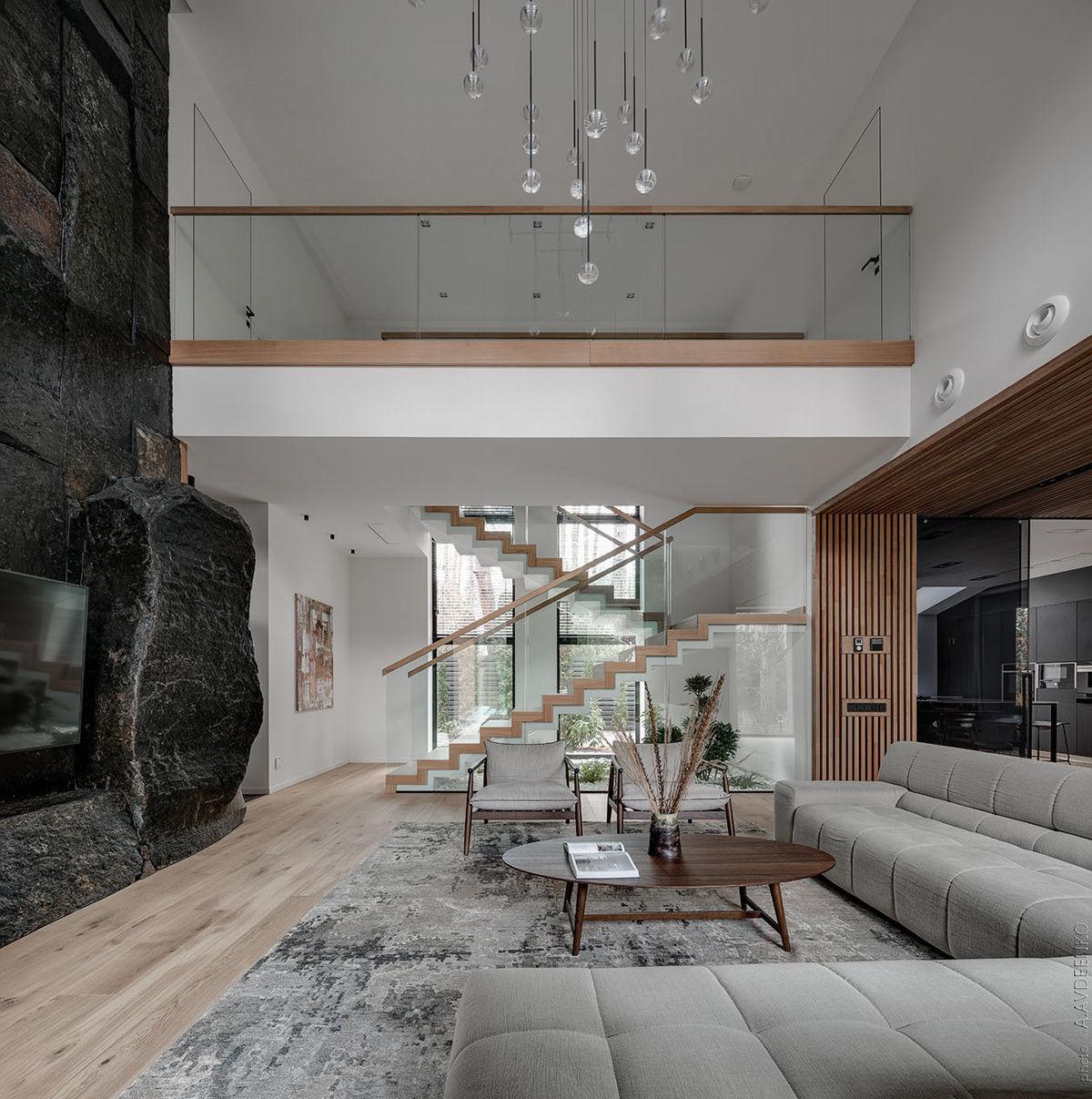 Biệt thự thiết kế theo phong cách nhà thông tầng