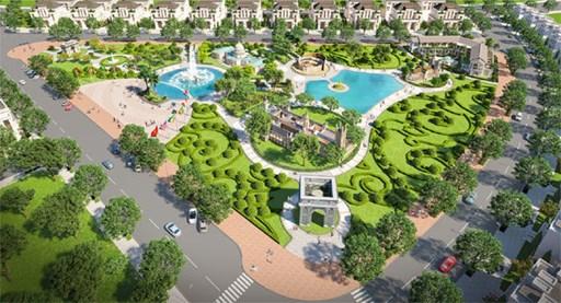 Dịch vụ thiết kế cảnh quan, sân vườn