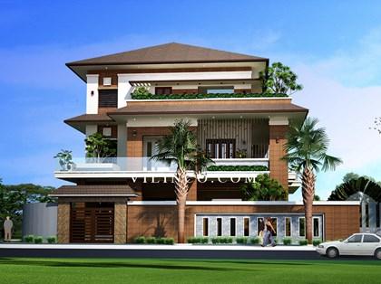 Hình ảnh của Biệt thự 3 tầng đẹp nổi bật tại Bắc Giang