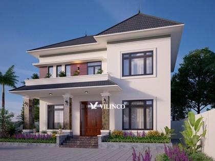 Hình ảnh của Thiết kế Biệt thự 2 tầng hiện đại tại thành phố Bắc Giang