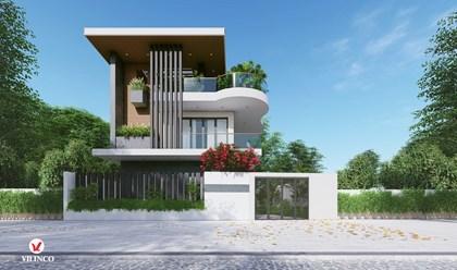 Hình ảnh của Mẫu nhà phố 3 tầng ĐẸP và LẠ tại Bách Việt HOUSE - Tp Bắc Giang