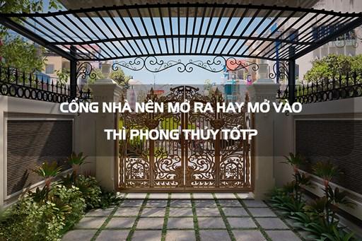Phong thủy cổng, cửa nhà: Kích thước, hướng bố trí theo tuổi