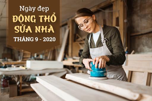 Ngày đẹp làm nhà, dựng nhà mới tháng 9 năm 2020 theo tuổi 12 con giáp