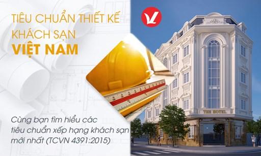 Tiêu chuẩn thiết kế khách sạn 4 sao mới nhất 08/2020