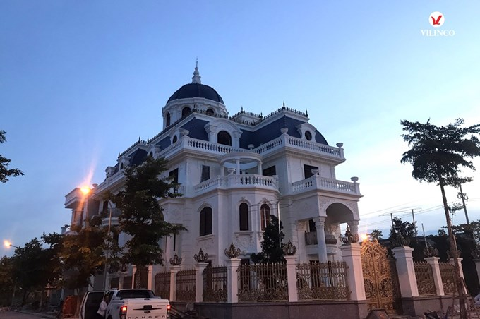 Hình ảnh của Thiết kế Dinh thự  tân cổ điển đẹp tại Bắc Giang
