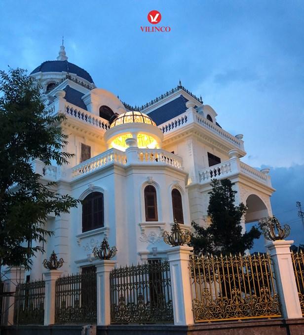 Hình ảnh của Mẫu thiết kế Dinh thự 3 tầng tân cổ điển đẹp tại Bắc Giang
